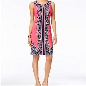 Sleeveless sheath dress - JM Collections